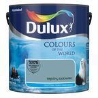 Farba wewnętrzna KOLORY ŚWIATA 2.5 l Błękitny lodowiec DULUX