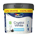Farba wewnętrzna CRYSTAL WHITE 10 l + 10% gratis Biała DULUX