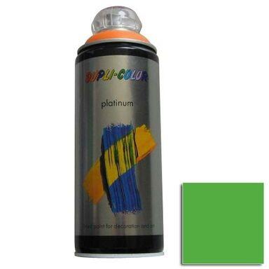 Lakier w sprayu PLATINUM 400 ml Żółto zielony Półmat DUPLI COLOR