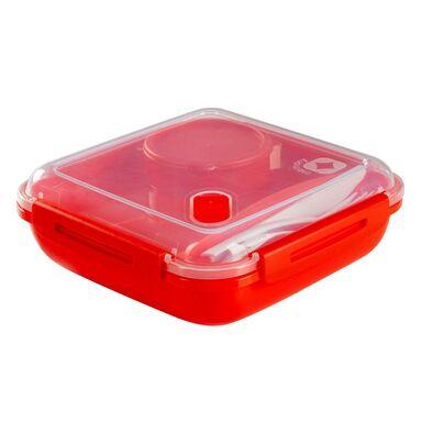 Pojemnik kuchenny na lunch Memory B3 + sztućce 1.1 l Rotho