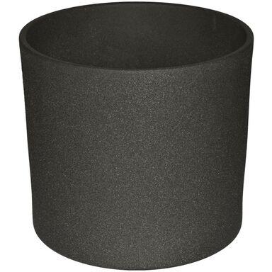 Osłonka ceramiczna 28 cm antracytowa WALEC CERAMIK