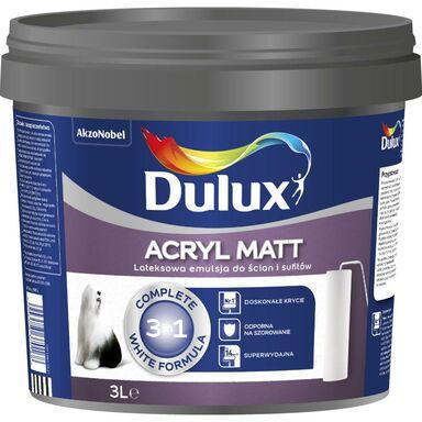 Farba wewnętrzna ACRYL MATT 3 l DULUX