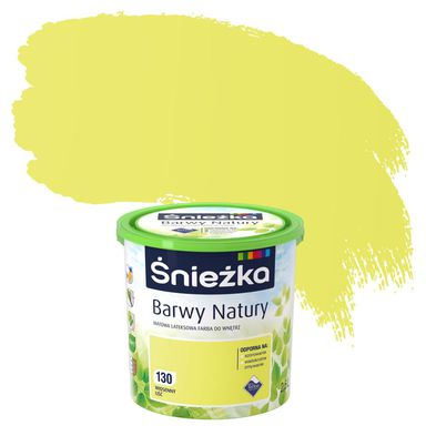 Farba wewnętrzna BARWY NATURY 2,5 l Wiosenny liść ŚNIEŻKA