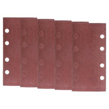 Papier ścierny z otworami 4+4 4+4 gr: 80dł. 185  szer. 93  DEXTER