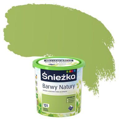 Farba wewnętrzna BARWY NATURY 2,5 l Zielona herbata ŚNIEŻKA