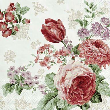 Serwetki Mysterious roses 33 x 33 cm 20 szt.