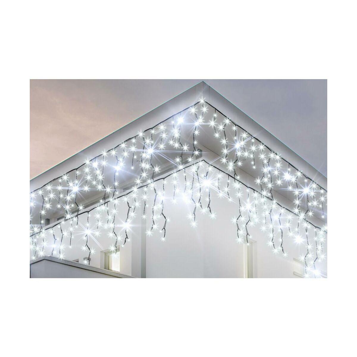 Kurtyna Swietlna Swiateczna 4 8 M 100 Led Biala Zimna Oswietlenie Swiateczne Zewnetrzne W Atrakcyjnej Cenie W Sklepach Leroy Merlin