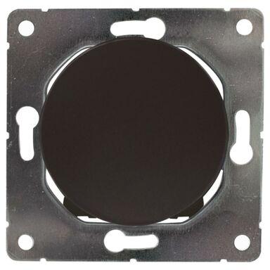 Włącznik krzyżowy SOUL  czarny  DPM SOLID