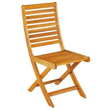 Krzesło ogrodowe drewniane PORTO NATERIAL składane