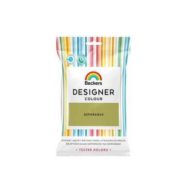 Tester farby DESIGNER COLOUR 50 ml Asparagus BECKERS