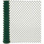 Siatka ogrodzeniowa pleciona 1.5 x 10 m zielona SOC PVC ARCELOR MITTAL
