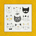 Serwetki FUNNY CATS PAW DECOR COLLECTION