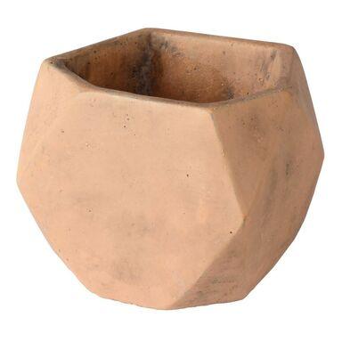 Osłonka doniczki betonowa 12 cm ceglasta ELOF