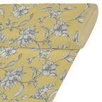 Tkanina na mb MUFLIER żółta w kwiaty szer. 280 cm