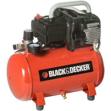 Kompresor bezolejowy BLACK + DECKER 12 l 8 bar NKBN304BND009