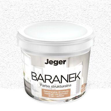 Farba dekoracyjna BARANEK 5 l Biały Piaskowany JEGER