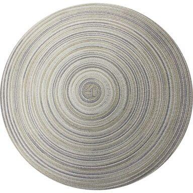 Podkładka na stół LOLLIPOP okrągła śr. 38 cm szara
