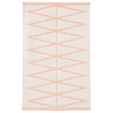 Dywan bawełniany MAURO różowy 60 x 90 cm INSPIRE