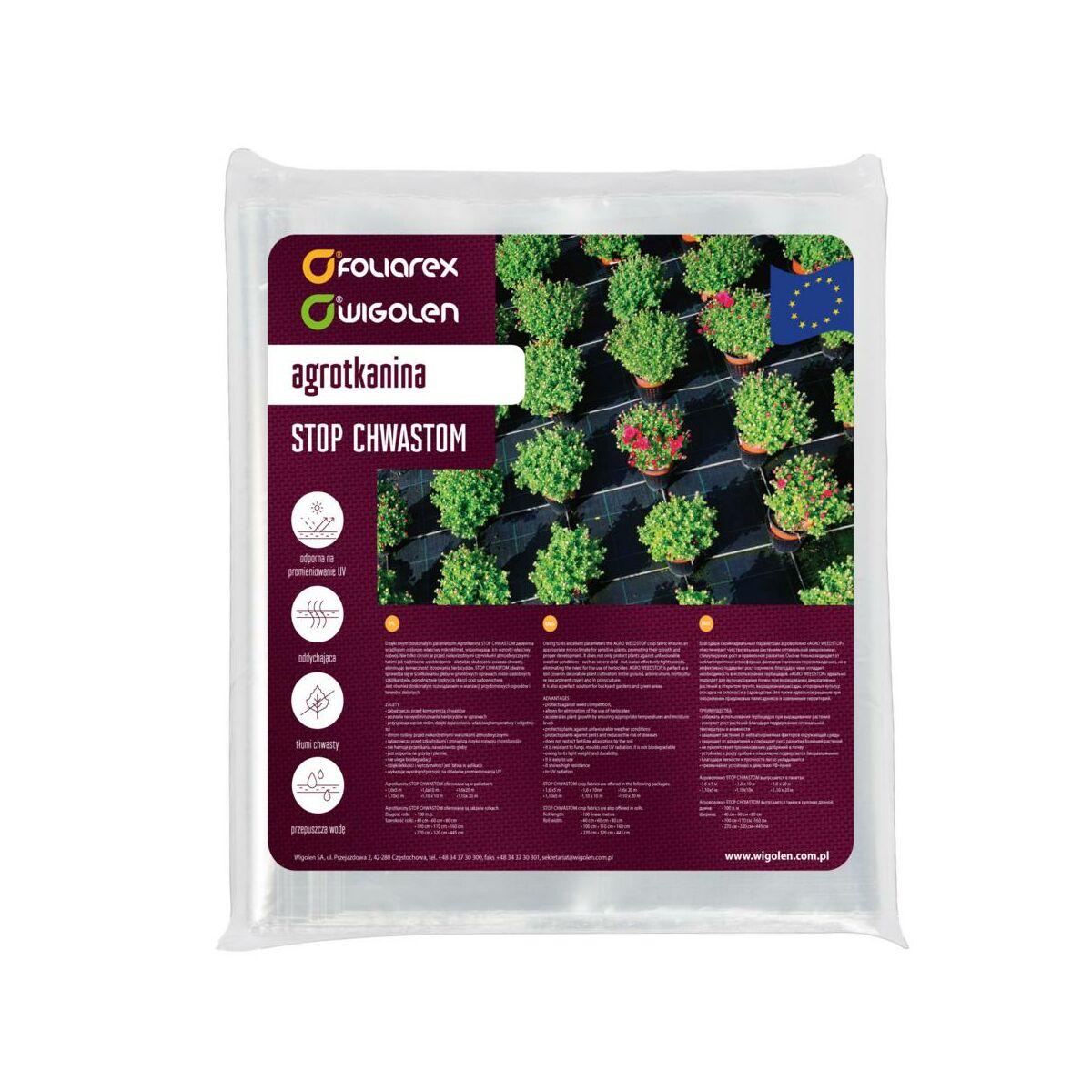 Agrotkanina Ogrodnicza 1 6 M X 10 M 77 G M2 Do Sciolkowania Brazowa Agrowlokniny Tkaniny Sciolkujace W Atrakcyjnej Cenie W Sklepach Leroy Merlin