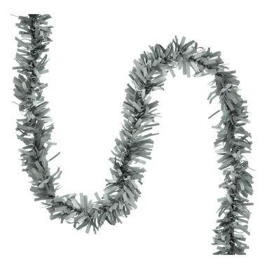 Łańcuch choinkowy 200 x 7 cm srebrny