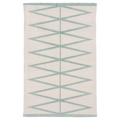 Dywan bawełniany MAURO miętowy 60 x 90 cm INSPIRE
