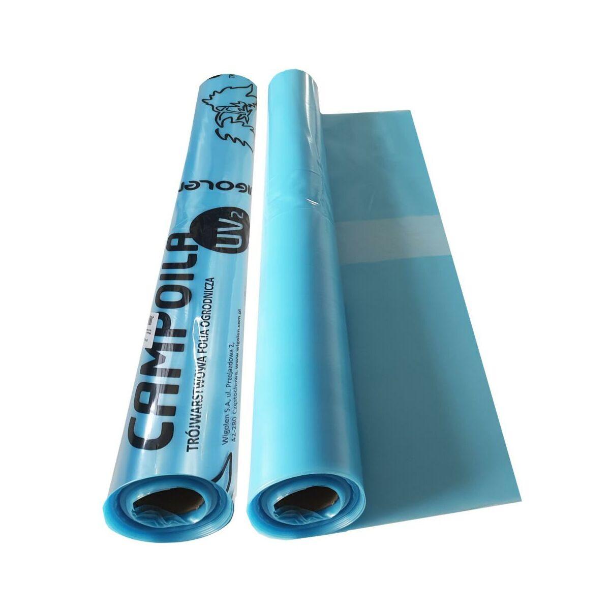Folia Ogrodowa Tunelowa 6 X 10 M Uv 2 Niebieska Plandeki Folie Ochronne W Atrakcyjnej Cenie W Sklepach Leroy Merlin