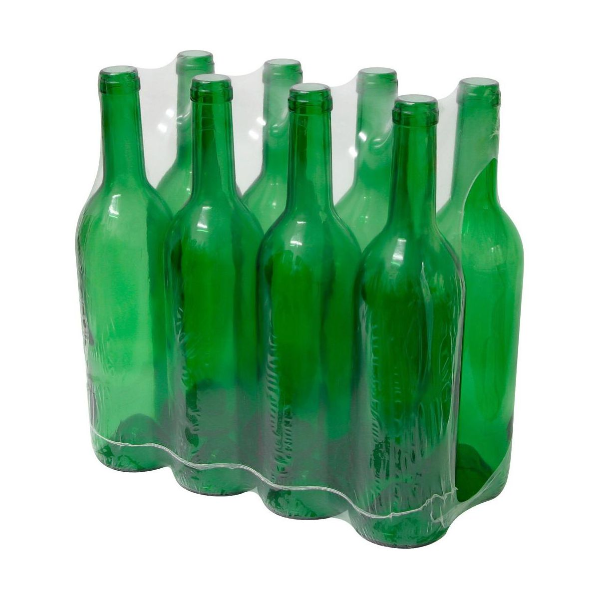 Butelka szklana zielona 0.75 l BIOWIN