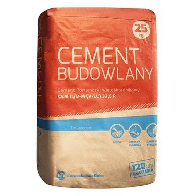 Cement budowlany CEM II/B-M (V-LL) 32,5 R 25 kg ODRA OPOLE