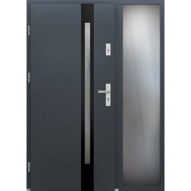Drzwi wejściowe TULUZA Z DOSTAWKA PRZESZKLONA 90Lewe ELPREMA