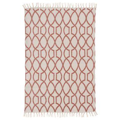 Dywan bawełniany PINK różowy 60 x 90 cm INSPIRE