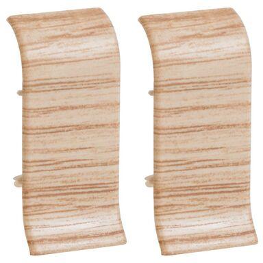 Łącznik do listwy przypodłogowej ERGO 56 Dąb miodowy 2 szt.