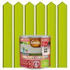 Farba do drewna KOLORY OGRODU 0.7 l Zielona limonka SADOLIN