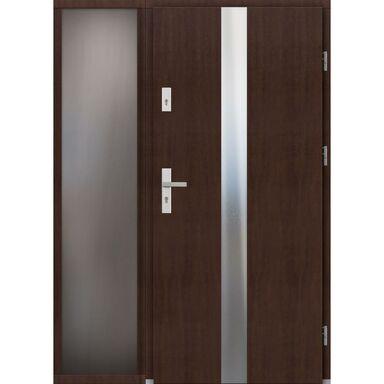 Drzwi wejściowe ARRAS Z DOSTAWKA PRZESZKLONA 90Prawe ELPREMA