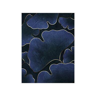 Kanwa Silver Ginkgo 70 x 100 cm