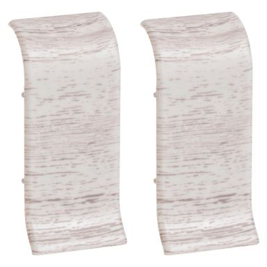 Łącznik do listwy przypodłogowej Ergo 56 Dąb siwy 2 szt.