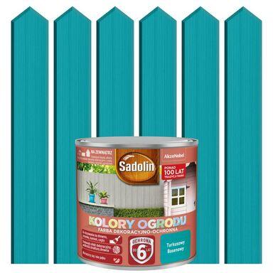 Farba do drewna KOLORY OGRODU 0.7 l Truskawkowy basenowy SADOLIN