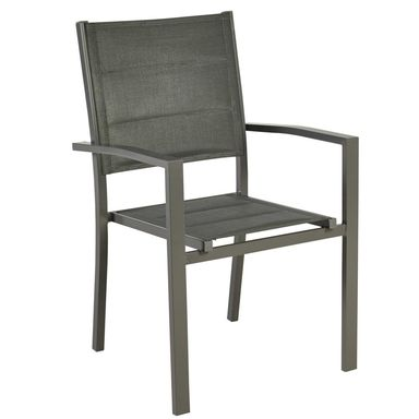 Fotel ogrodowy aluminiowy antracytowy NIAGARA NATERIAL