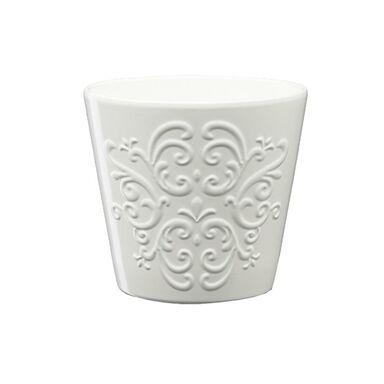 Osłonka ceramiczna 16 cm biała RETRO 2 J15 EKO-CERAMIKA