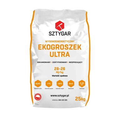 Ekogroszek ULTRA 28 MJ 1000 kg SZTYGAR