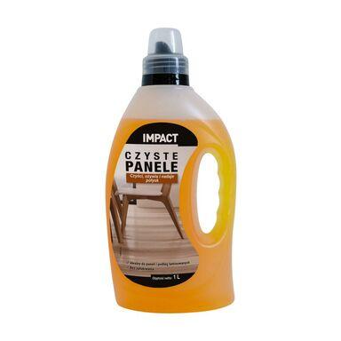 Środek do czyszczenia parkietu CZYSTE PANELE 1 l IMPACT