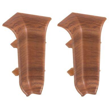 Narożnik wewnętrzny do listwy przypodłogowej ERGO 56 Dąb rustykalny 2 szt.