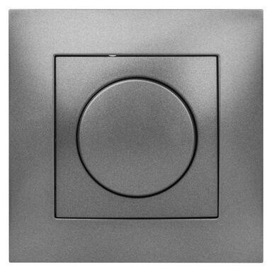 Ściemniacz przyciskowo-obrotowy CARLA  Grafitowy  ELEKTRO-PLAST