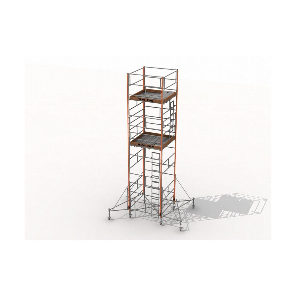 Rama Konstrukcyjna Rusztowania 1 A B 1 6 M Rew Ton Rusztowania W Atrakcyjnej Cenie W Sklepach Leroy Merlin