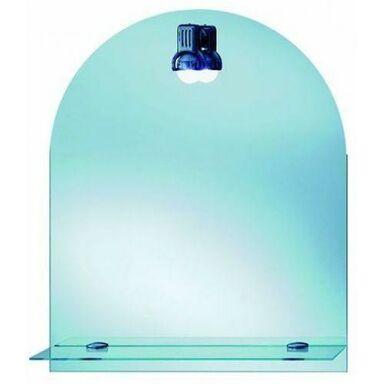 Lustro łazienkowe z oświetleniem kinkietowym PROSTOKĄT 50 x 65 DUBIEL VITRUM
