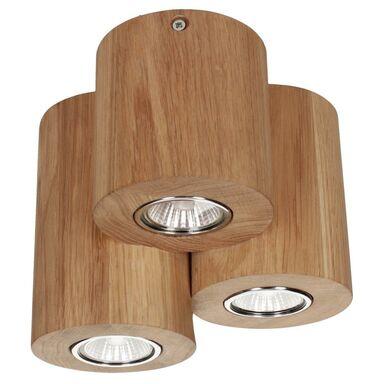 Oprawa stropowa natynkowa WOODDREAM dąb 3 x GU10 SPOT-LIGHT