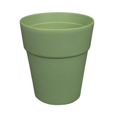 Osłonka doniczki 13.5 cm ceramiczna zielona BEAR