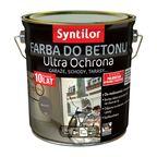 Farba do betonu ULTRA OCHRONA 2.5 l Brązowy SYNTILOR
