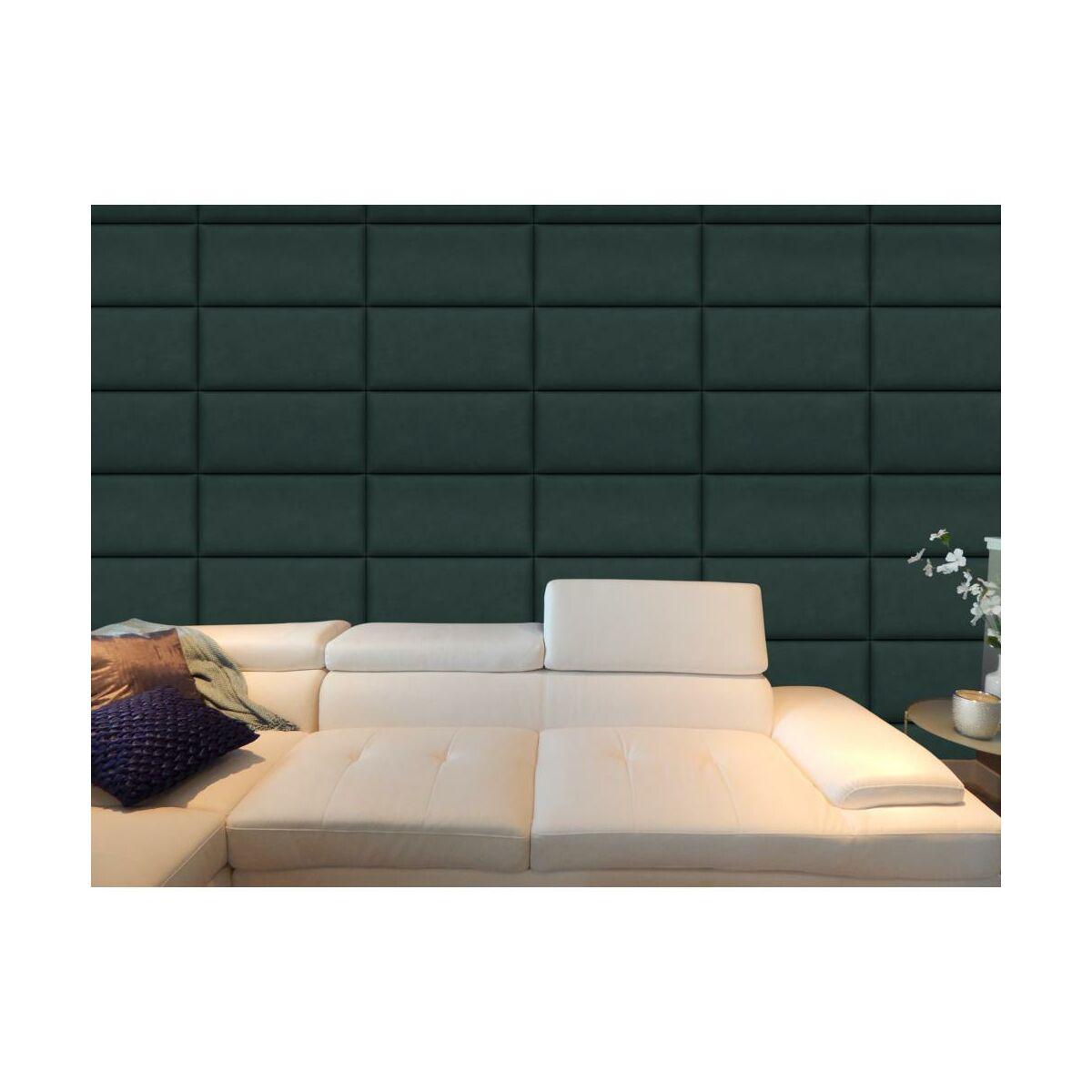 Panel Tapicerowany Ciemnozielony 60 X 30 Cm Panele Tapicerowane W Atrakcyjnej Cenie W Sklepach Leroy Merlin