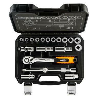 Zestaw kluczy nasadowych 08-661 NEO