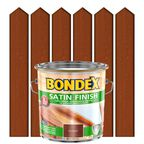 Lakierobejca do drewna SATIN FINISH 2,5 lTeak BONDEX